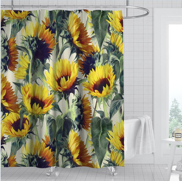 sunflower-forever-shower-curtain