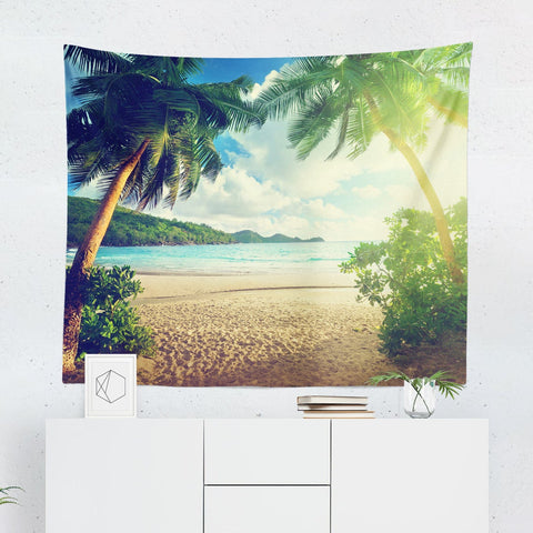 sunset-on-the-beach-tapestry