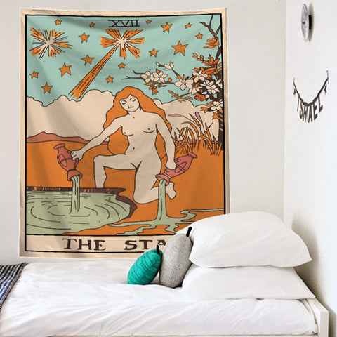 THE STAR Tarot Wall Tapestry