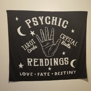 Love Fate Destiny Tarot Tapestry