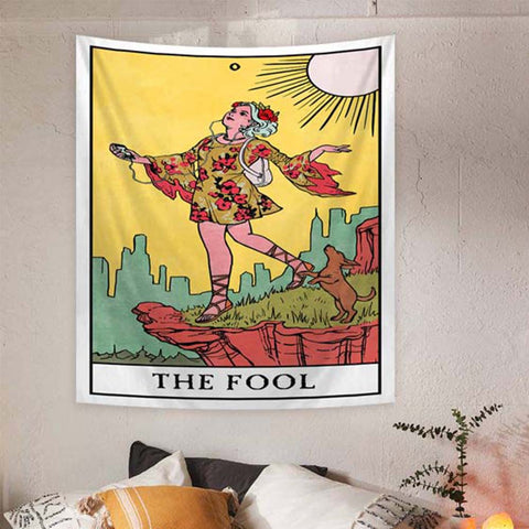 the-fool-tarot-tapestry