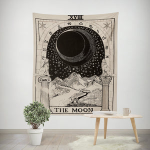 The Moon Tarot Wall Tapestry