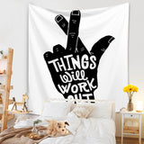 things-will-work-out-quote-tapestry