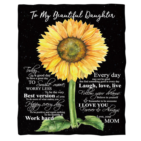 to-my-beautiful-daughter-fleece-blanket-sunflower