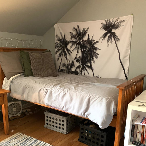 Tropical Coconut Palm Trees Tapestry