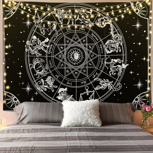 twelve-constellations-black-and-white-tapestry