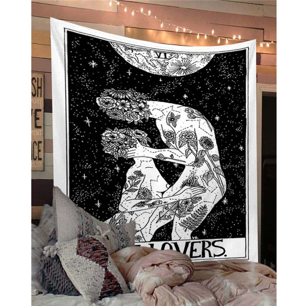 VI THE LOVERS Tarot Tapestry