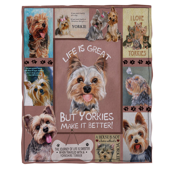 yorkie-dog-flannel-fleece-throw-blankets