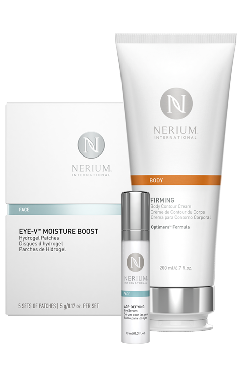 Firming Body Contour Cream, Eye Serum, & Eye Patch Combo (1 of each)