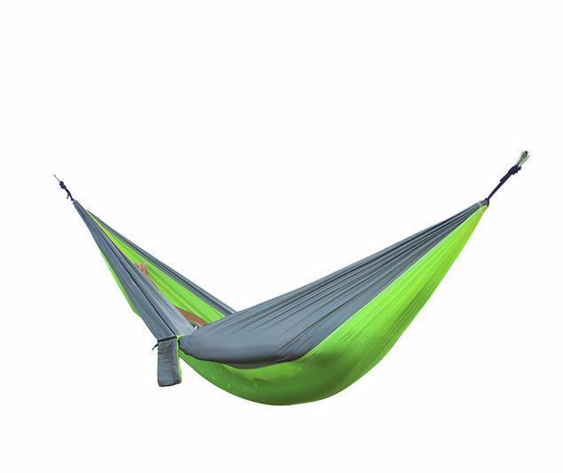 nylon double hammock   green camel   warehouse nylon double hammock  u2013 pirates pillage  rh   piratespillage