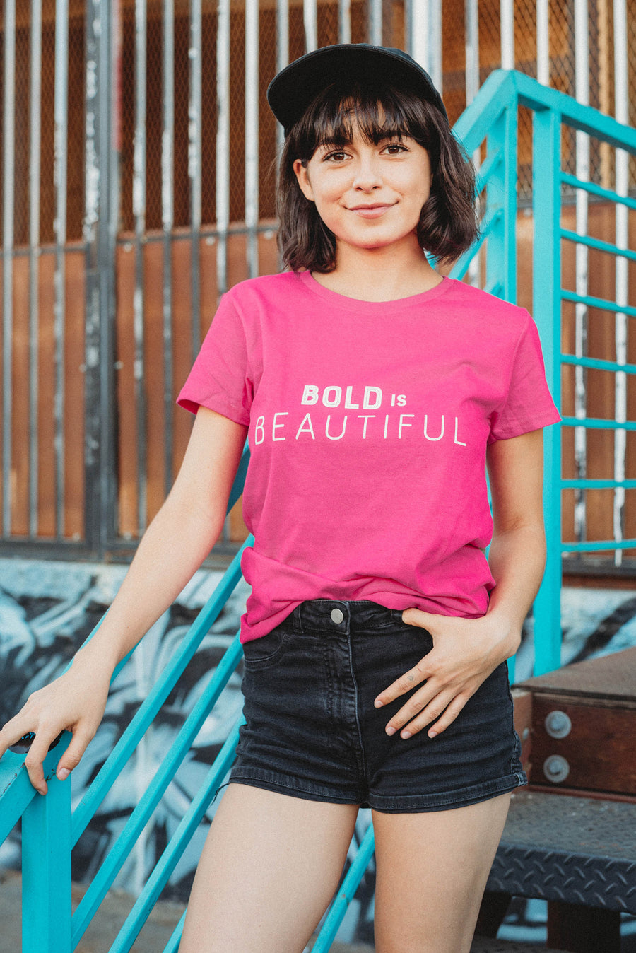 Bold Is Beautiful Tee