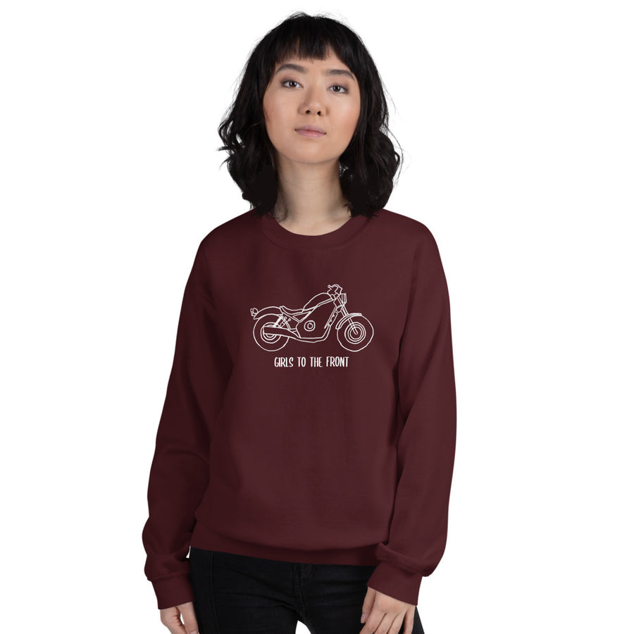 Girls to the Front Unisex Sweatshirt