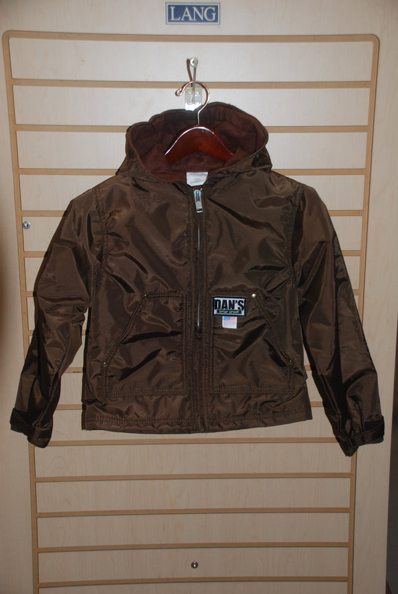 YOUTH HOODED COAT