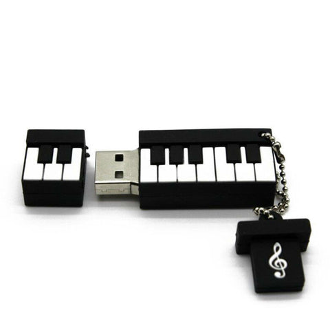 Piano Shape Flash Drive