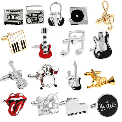 Musical Inspired Cuff Links