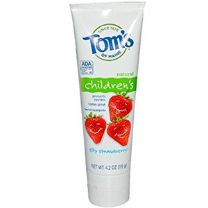 Toothpaste Silly Strawberry Flouride Free