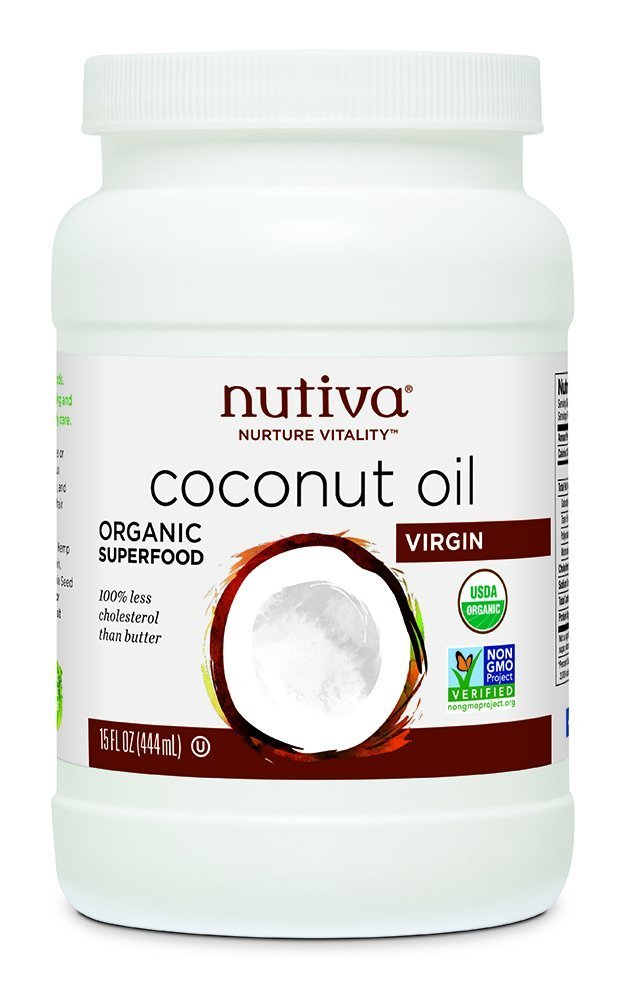 Nutiva Organic Virgin Coconut Oil, 444 ml