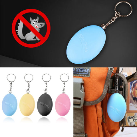 Egg Shape Self Defense Key Chain