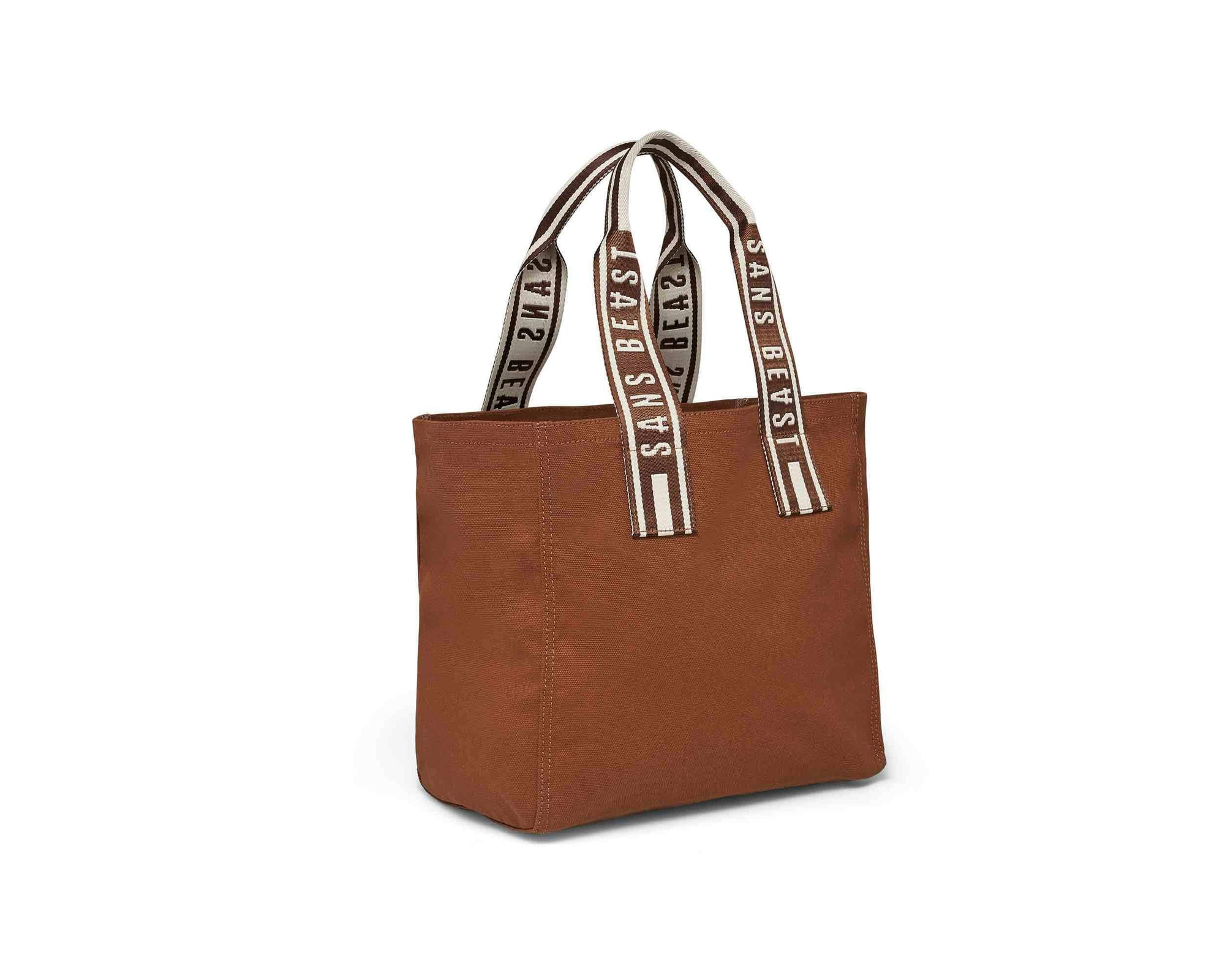 Sans Beast Chestnut Overflow Tote Front View