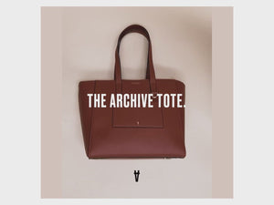 the archive tote walk through video