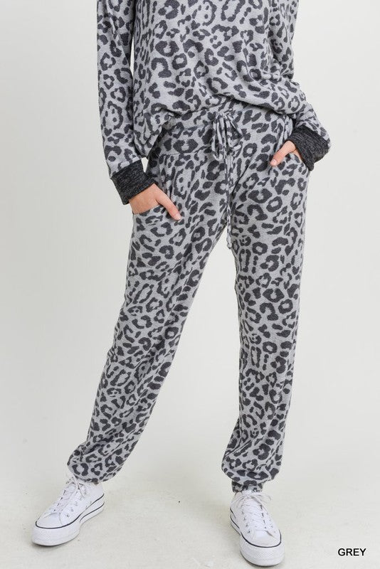 Leopard Joggers - Blush Boutique