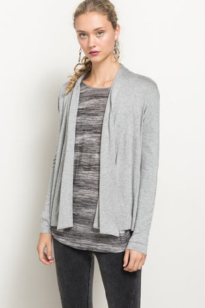 Draped Cardigan - Blush Boutique
