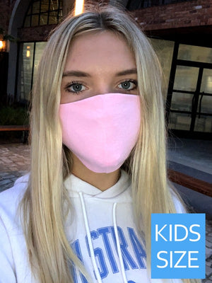 Girls Pink Mask - Blush Boutique