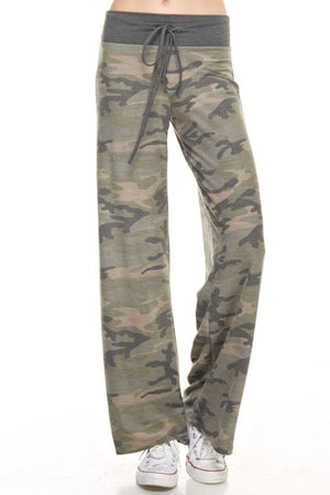 Camo Lounge Pants - Blush Boutique