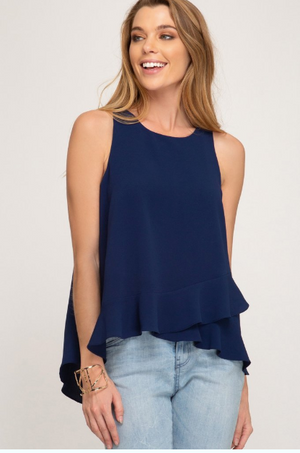 Tulip Hem Top - Blush Boutique