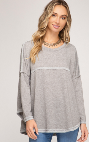 Terry Knit Top - Blush Boutique
