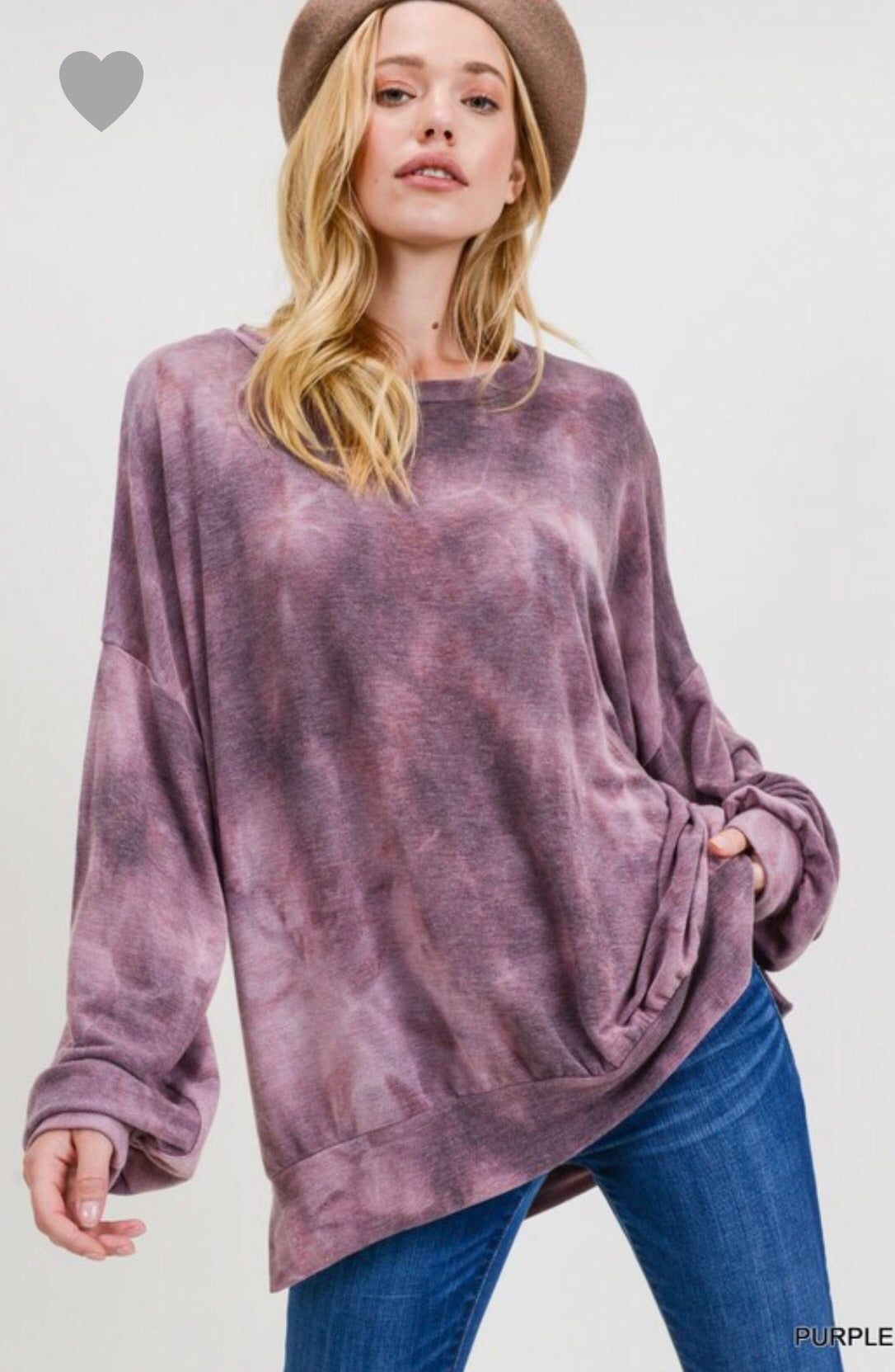 Tie Dye Sweatshirt - Blush Boutique