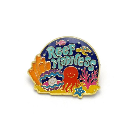 REEF MADNESS PIN