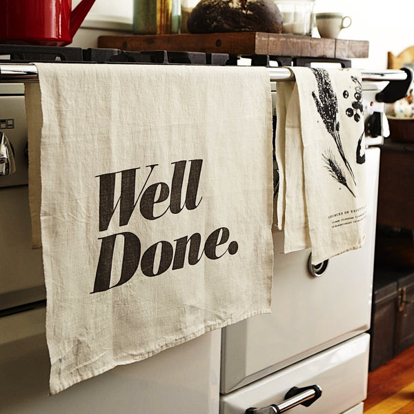 LARGE LINEN TEA TOWEL