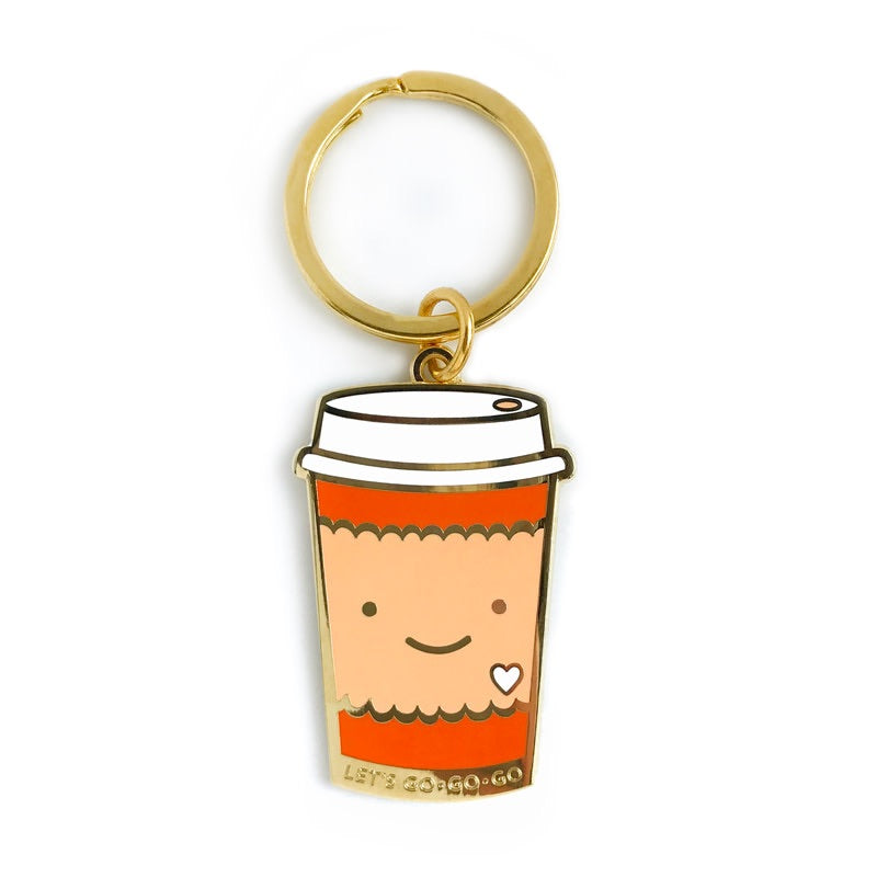COFFEE TO GO KEYCHAIN