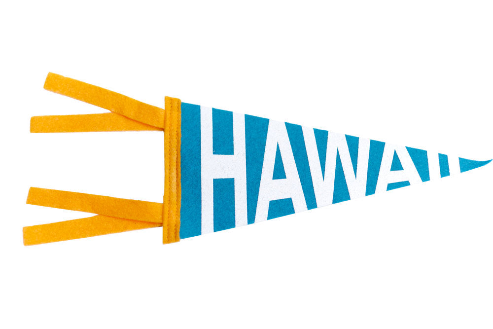 SMALL PENNANT HAWAII TURQUOISE