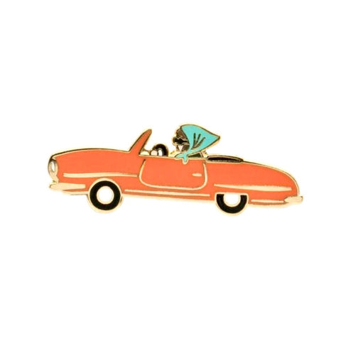 LADY CAR PIN
