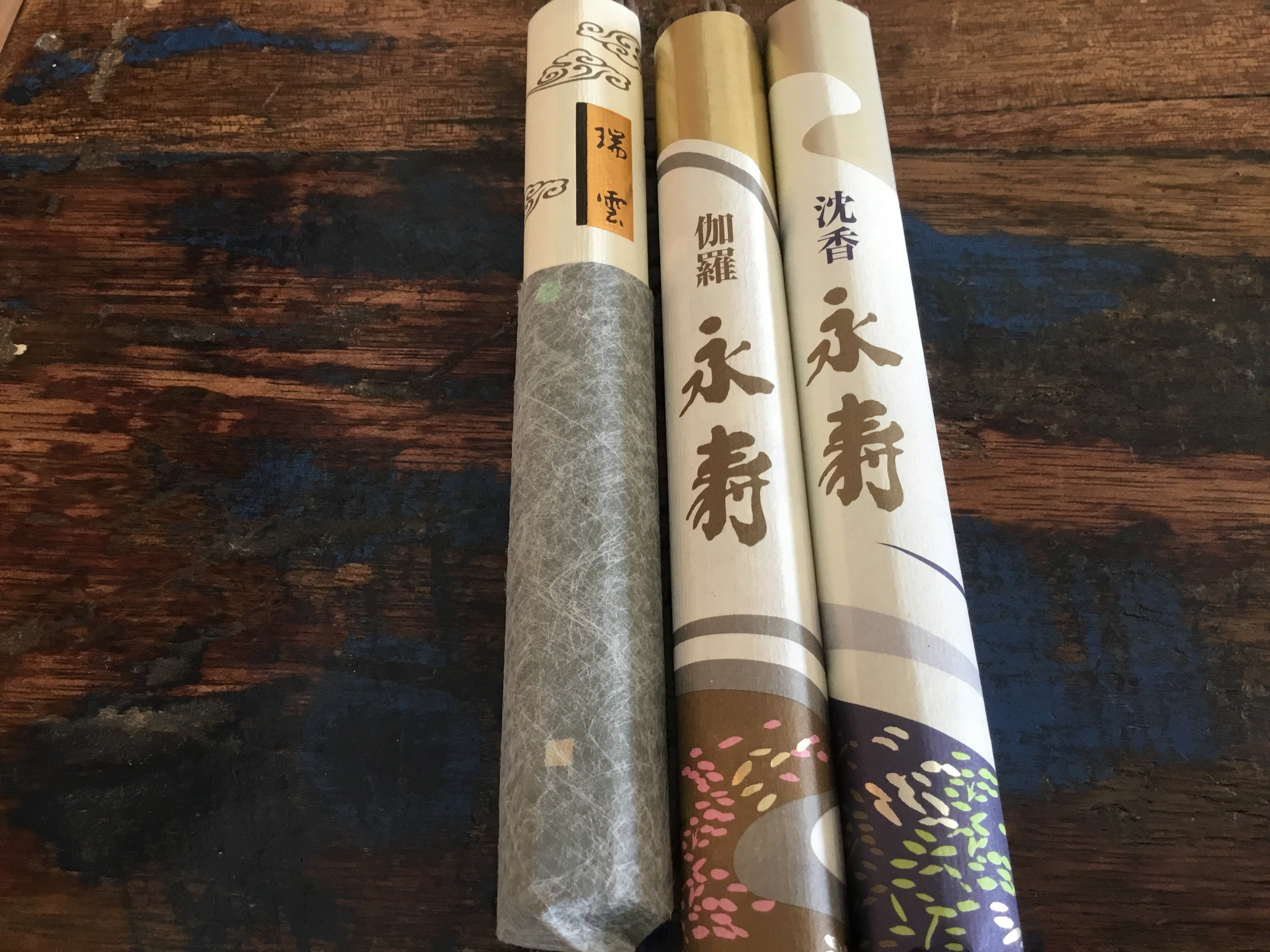 JAPANESE ROLL INCENSE