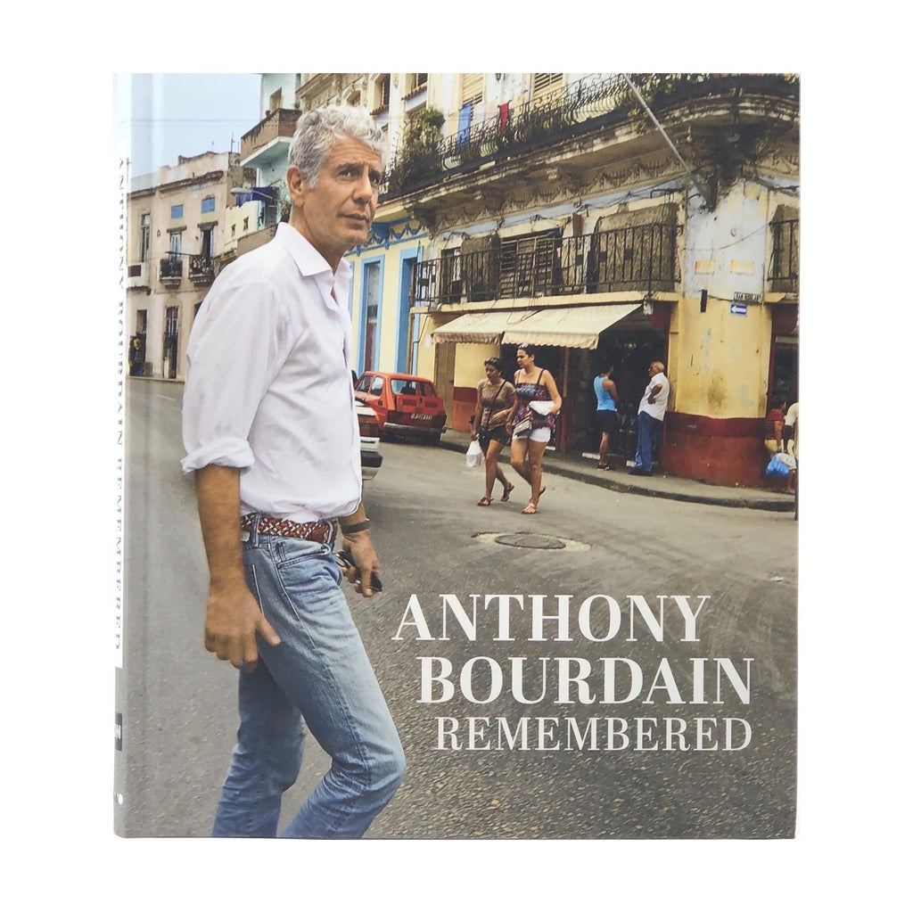 ANTHONY BOURDAN REMEMERED BOOK