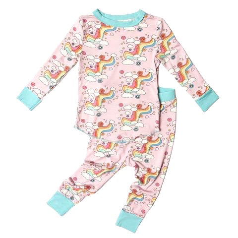 KIDS RAINBOW LOVE BAMBOO SET