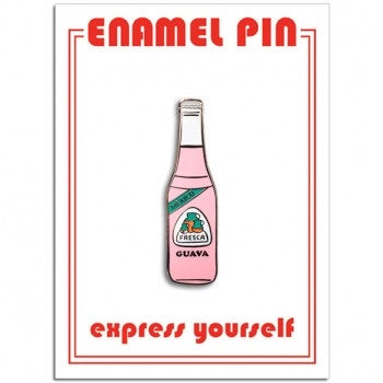 GUAVA SODA BOTTLE PIN