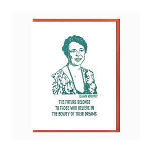 ELEANOR ROOSEVELT CARD