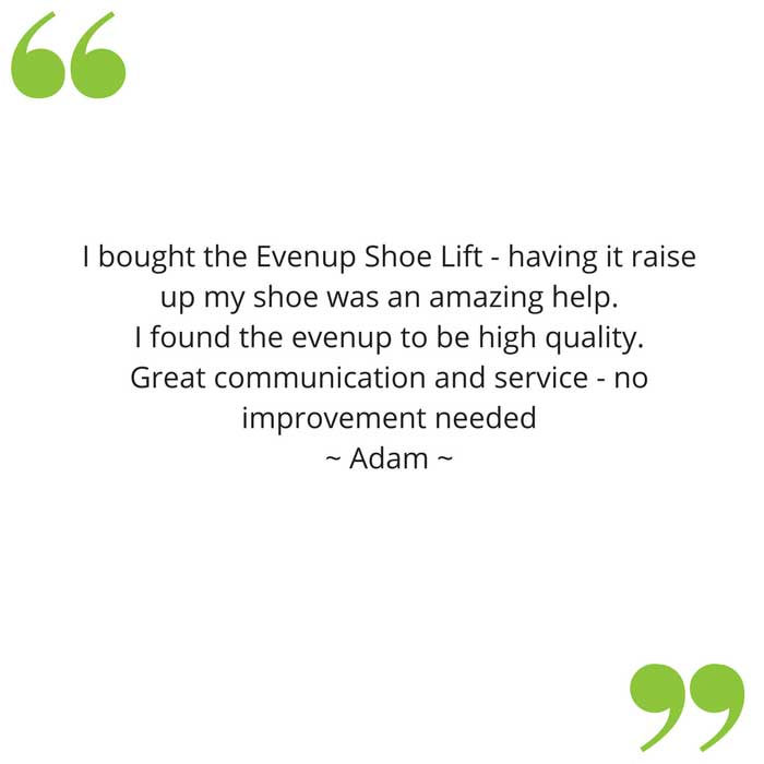 adam's evenup feedback