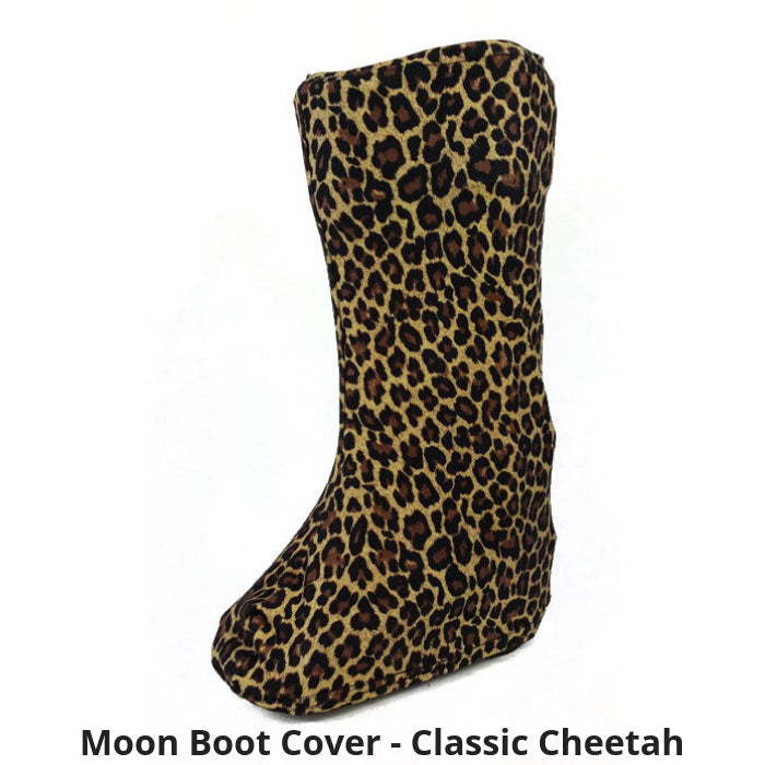 Moon Boot Cover in Classic Cheetah