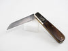 Rodgers Barlow Pocket Knife with Lambsfoot Blade in high carbon, stainless steel.