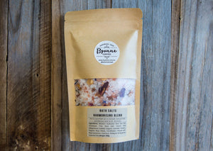 Bath Salts 300g Pouch - Harmonising and Balancing Blends