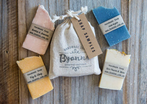 Samples 4 Soaps in a Bag