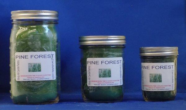 Pine Forest Scented Jar Candle