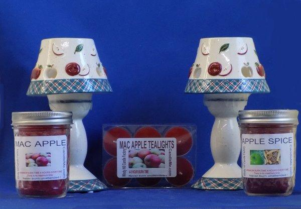 Apple Lovers Tealight Gift Set