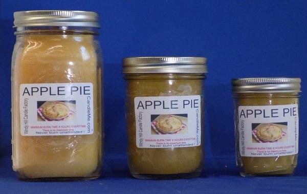 Apple Pie Scented Jar Candle