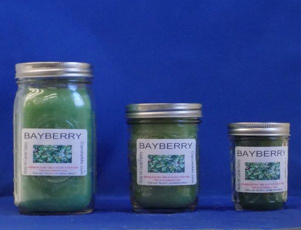 Bayberry Scented Jar Candle